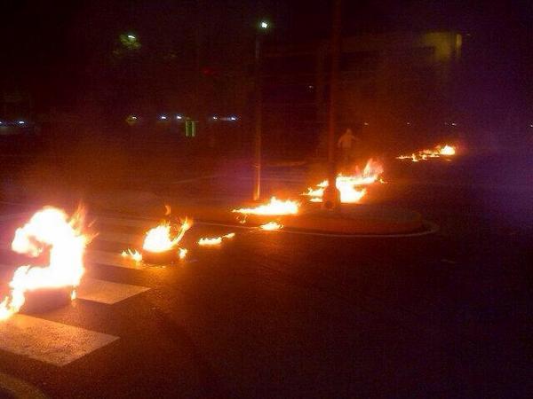 Bajo manifestaciones amanecieron Barquisimeto y Cabudare este viernes