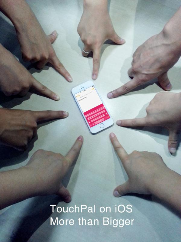 Yes, we have submitted TouchPal to App Store! It is expected to be available on Sep 17 ^_^ #MorethanBigger http://t.co/xYAFyU4rwA