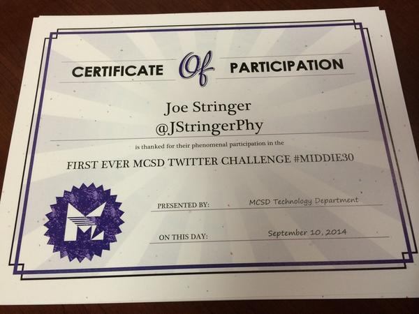 Drew a random challenge winner- any1 who participated in #Middie30, even once, was eligible! Congrats @JStringerPhy! http://t.co/OaseDEVipJ