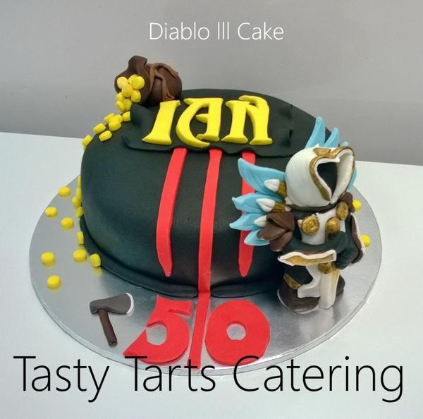 Amazing Tasty Tarts Catering On Twitter 50Th Birthday Cake For A Gamer Funny Birthday Cards Online Inifodamsfinfo