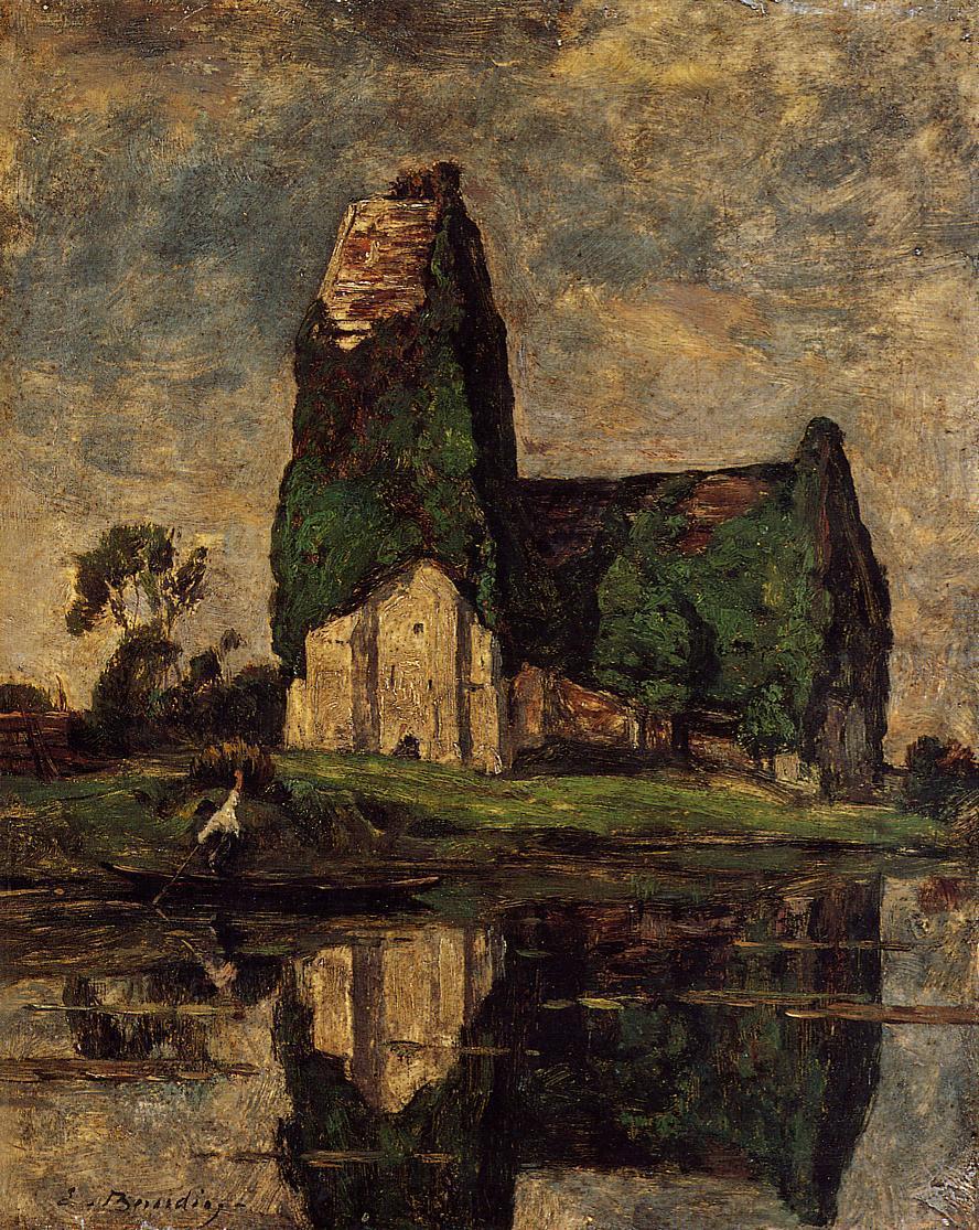 Criqueboeuf, the Church