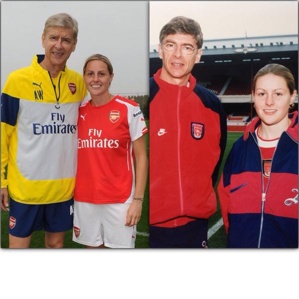Not much has changed since 1996 when I first signed for @Arsenal
