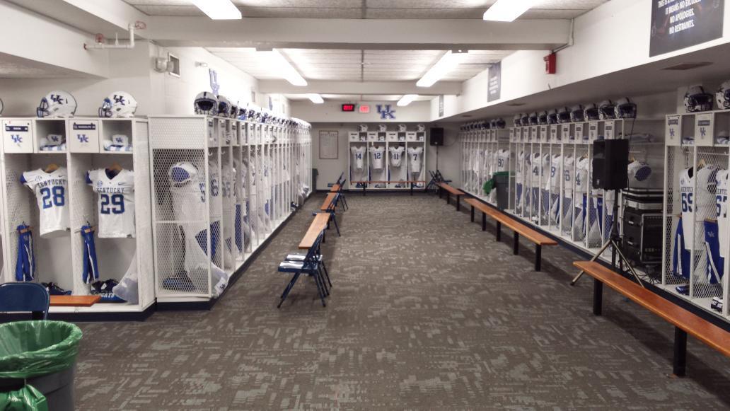 University Of Kentucky Basketball Locker Room