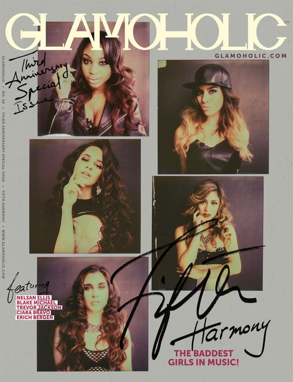 Here's Your Exclusive First Look on Glamoholic's Third Anniversary Special Issue Cover With @FifthHarmony! http://t.co/qzTtLz9fgR