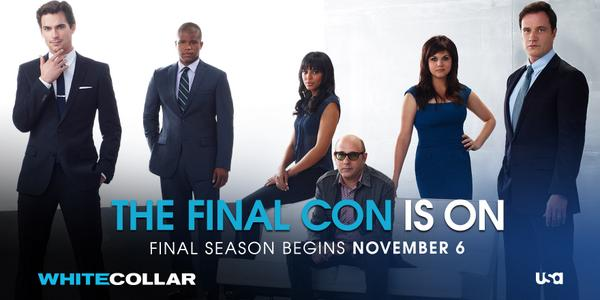 It's the moment you've all been waiting for: #WhiteCollar returns Thursday, November 6 at 9/8c. The Final Season. http://t.co/1IFY1mUyMS