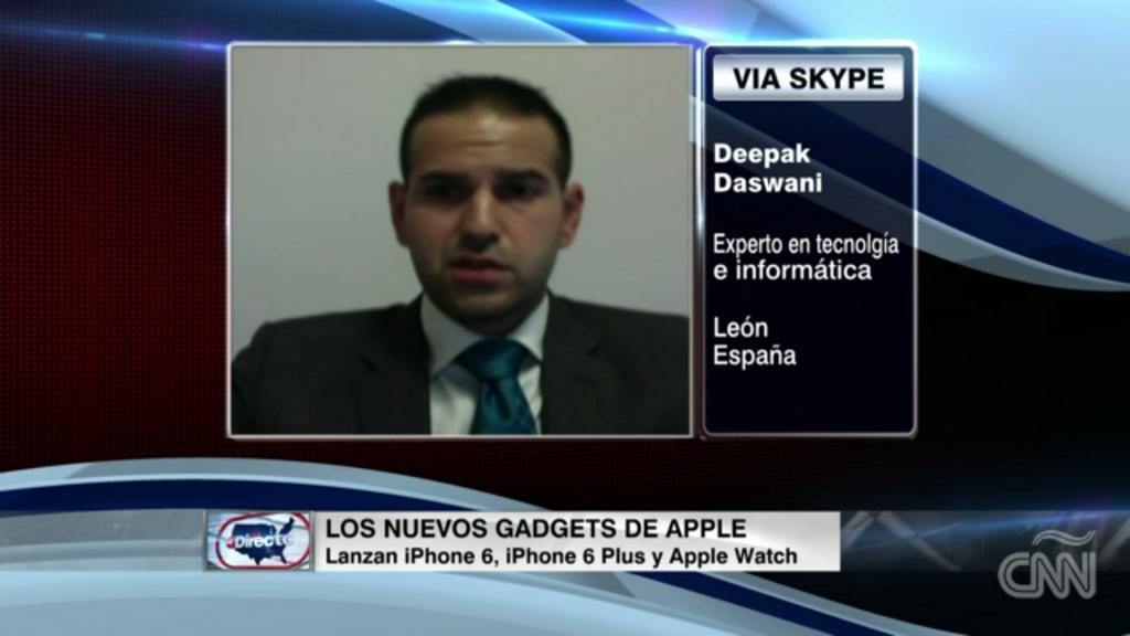 Mi intervención en CNN Directo USA a través de Skype desde León