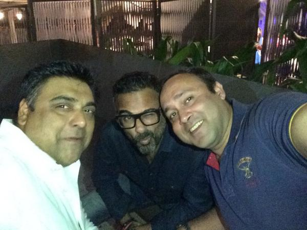 Photo of Ram Kapoor & his friend