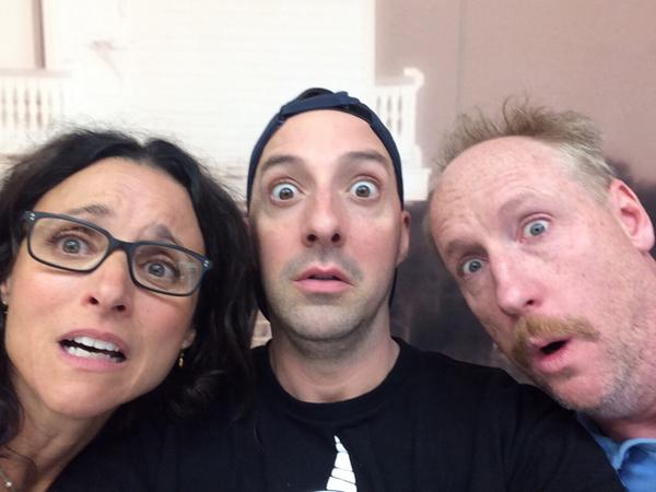 Veep Season 4. Be very afraid. @OfficialJLD @mrmattwalsh @VeepHBO http://t.co/8eSqJaM0XE