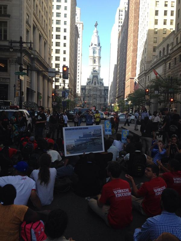 Fight for Education Rally @fightforphilly http://t.co/Sv13SlqWbt