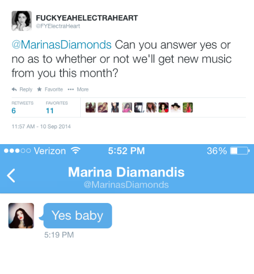 Marina and the Diamonds confirms new music