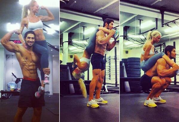 Resultado de imagen para parejas gym