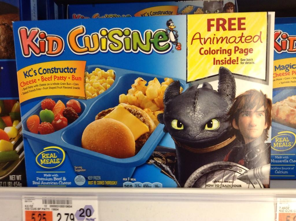 Mike mozart on twitter cool how to train your dragon for Are kid cuisine meals healthy