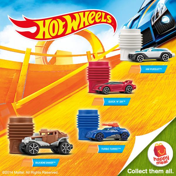 McDonalds Philippines Happy Meal Hot Wheels & Barbie Life in the Dreamhouse, Happy Meals