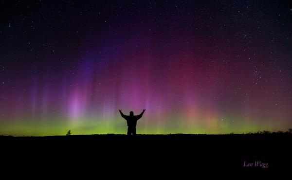 Northern Lights Over Parrsboro Ns Naturesgift Atvisitnovascotia Atsolarstormwatch Atnaturecanada Atexplorecanada Atctccct