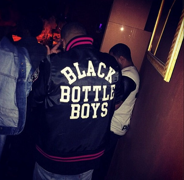 Black Bottle Boys Jacket