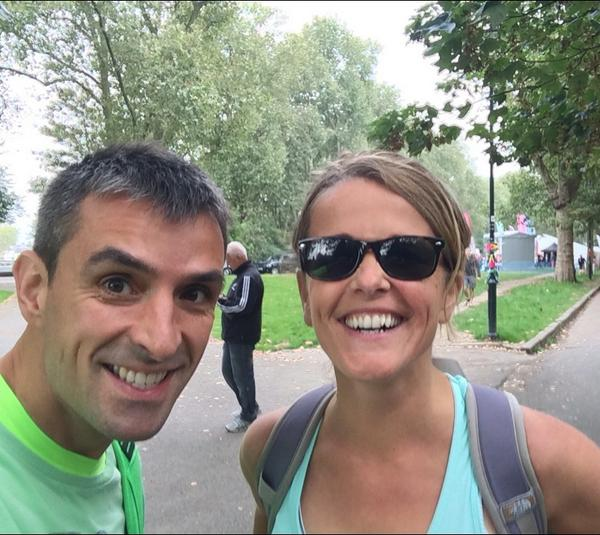 ,@smunnings01 and I just arrived #thamespath100k #excited http://t.co/aOSVlYrmgC