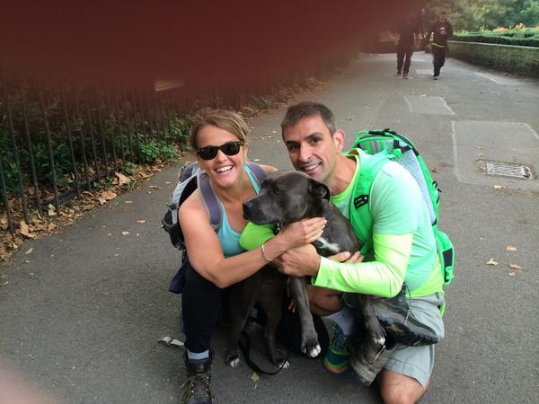 This is exciting - dolly is coming for the first leg #ThamesPath100k http://t.co/IIFrGJVTrn