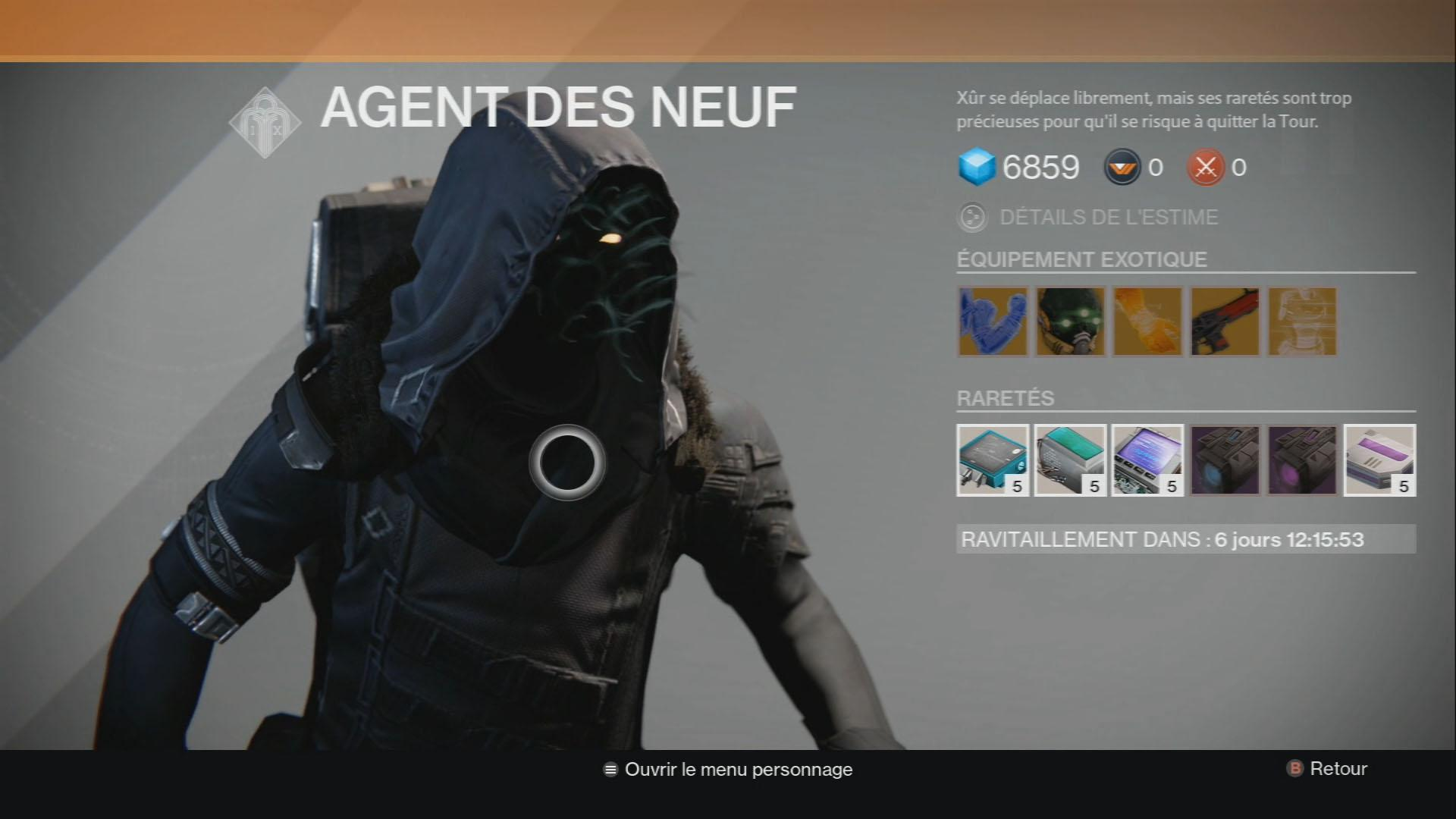 how to get to xur on edz