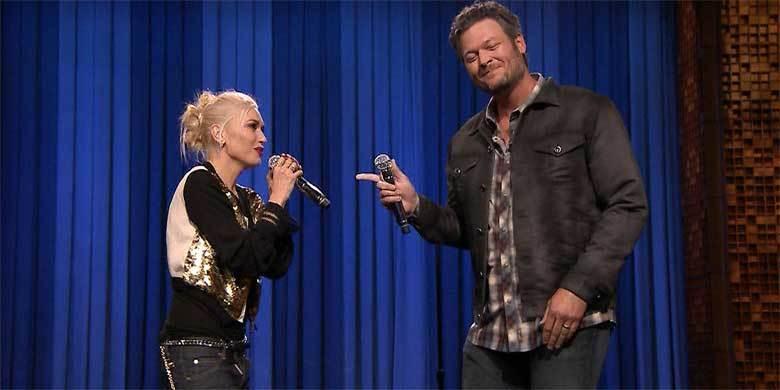 Gwen Stefani And Blake Shelton Face Off In Epic Lip Sync Battle On Jimmy Fallon ... http://t.co/xeBnXSovmC http://t.co/vIzPBjGSen