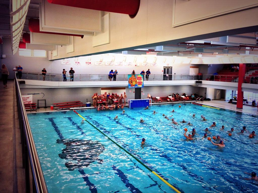 pete kauffman on twitter wilson high school pool nothing to compare in lancaster county high