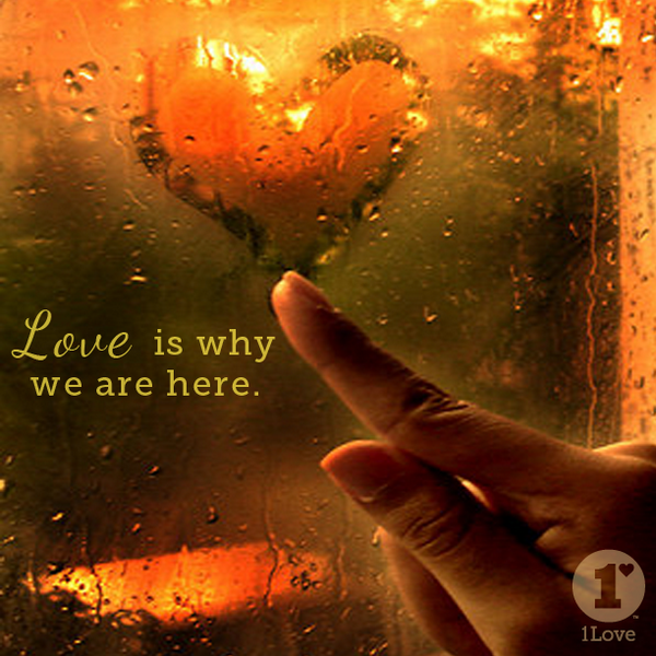 LOVE is why we are here...share it, create it and accept it! #BeLove #1Love http://t.co/miDemUI8G6