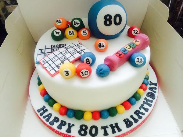 the blue bird bakery on twitter 80th bingo birthday cake x http