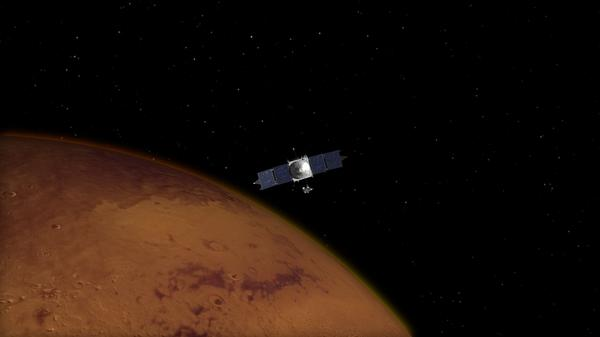 #MAVEN on track for an on-time arrival at #Mars | http://t.co/VGkul4QqaS 33 min. burn begins tomorrow at 9:50 p.m. ET http://t.co/0bvrFrJD0V