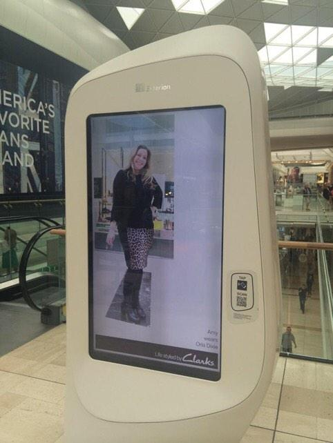 RT @Paul_Framp: @keano81 demonstrating live #DOOH style sessions for our client @clarksshoes ; shoppers are styled & pushed to screen http:…