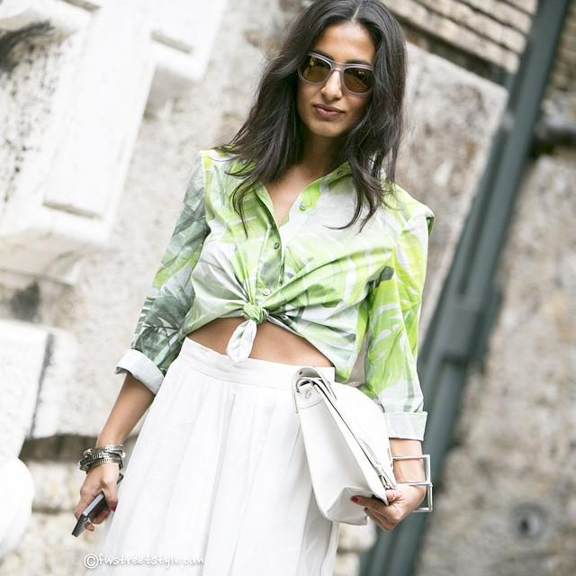 RT @RedFashionTeam: More of the best street style from #MFW #SS15 Which is your favourite look? http://t.co/sVZrAW3Ney http://t.co/t8yS4PJw…