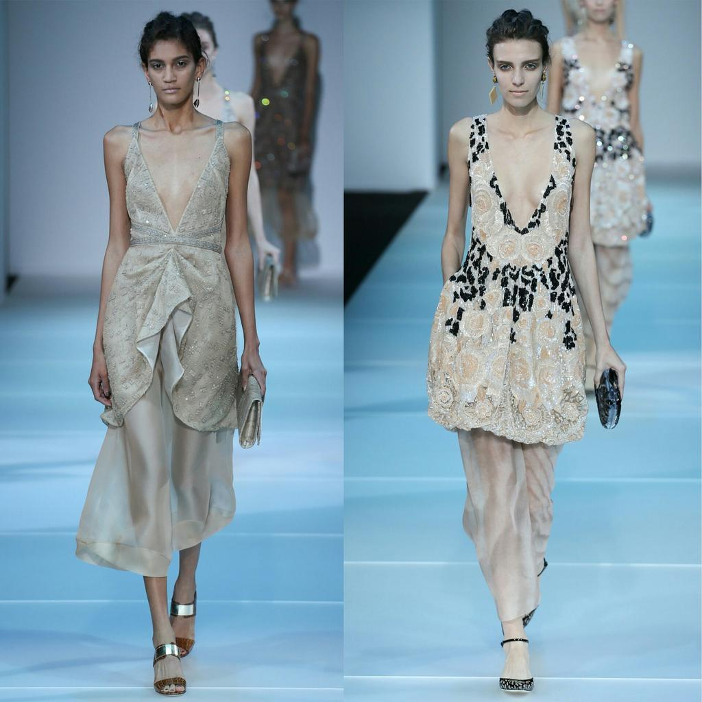 Favorite Looks from the Giorgio @Armani Spring 2015 Collection #MFW http://t.co/fWq8Eb9Oh6
