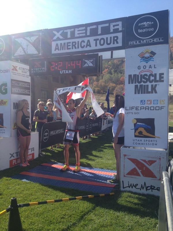 Your 2014 US National Championship winner @RubenRuzafa #xterrautah http://t.co/toJBuZ3jNb