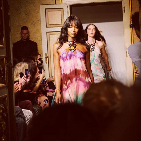 Watch @NaomiCampbell lead the finale at @EmilioPucci: http://t.co/MLnKifleqf #MFW http://t.co/fkRLkzeyqj
