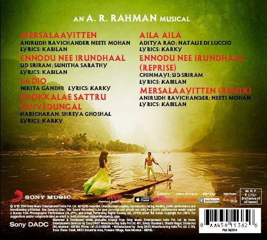 Vikram I Tracklist