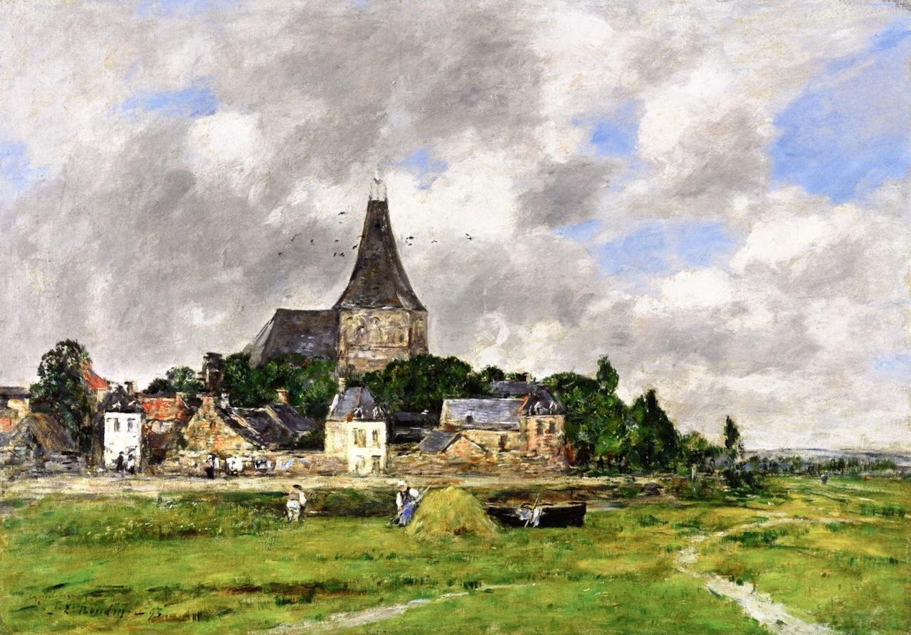 Quillebeuf, l'Église du Grand Canal