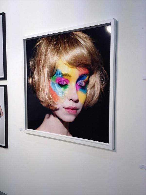 'Rainbow Bob' by @rankinphoto at the #125live exhibition @londonewcastle until 28th September http://t.co/nI3QaQo4th