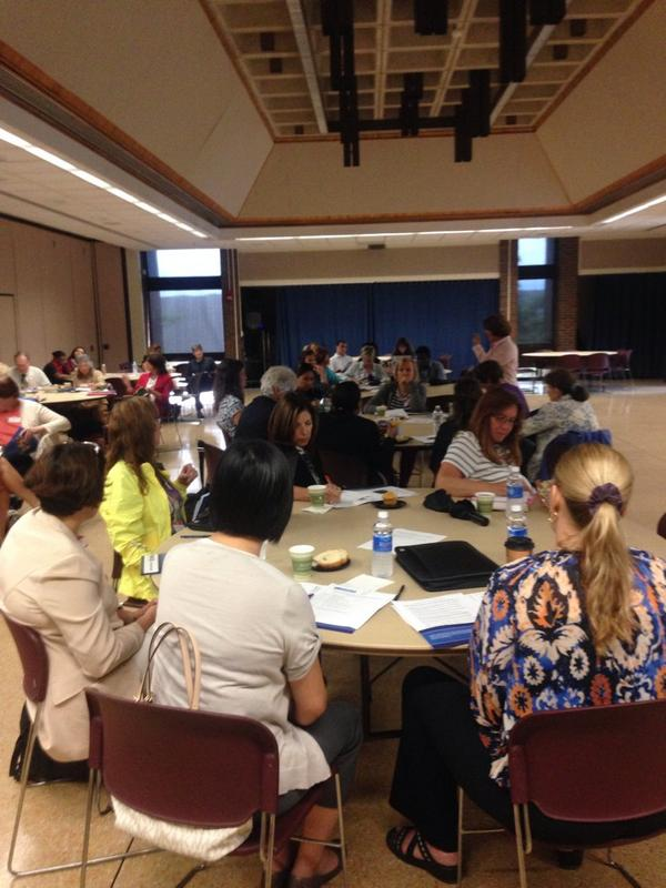 #Mathematics faculty & staff from 2-yr, 4-yr & K-12 meet to discuss ways to improve Ss #CommonCore math skills http://t.co/HTq3fEaoQj