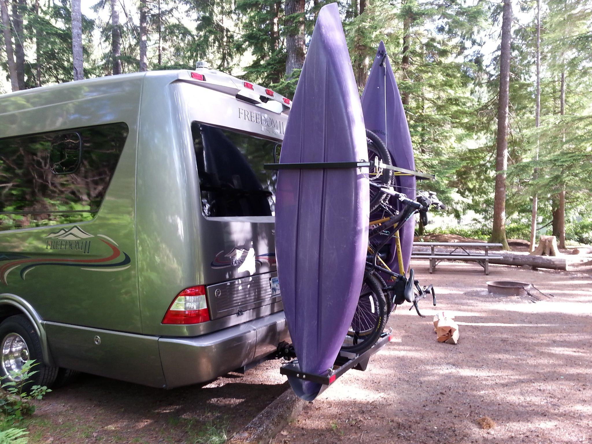 thule canoe size no love forums enough setup on though and net each am rack that my what required tundratalk kayaks sure bars for you room i drilling not need hauling rv tundra toyota forum towing kayak racks still discussion have side