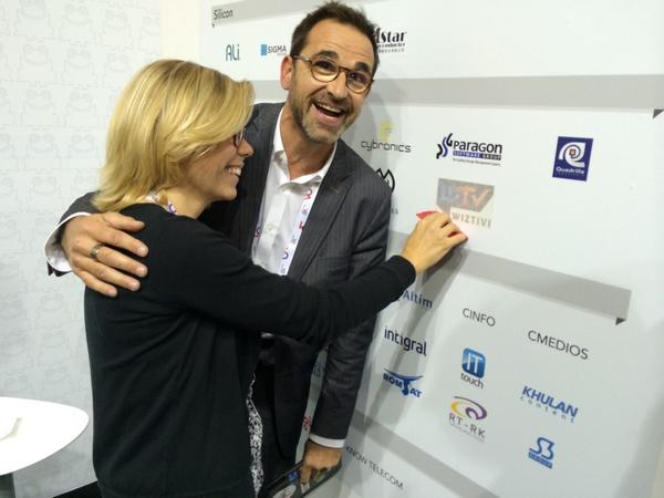 Live from #ibc2014 #ibcshow : @Wiztivi_France joins @FrogByWyplay community - warm welcome to them!