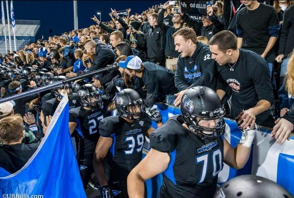 Thank you #BullsNation for your support of #BlackoutUBStadium. #HornsUp #UBBulls http://t.co/sM9Y9nbnig