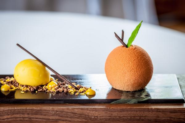 My Chocolate Orange confit mousse celebrates 20 years here @Gidleighhotel tonight with a new look! http://t.co/ebUXvGsQ1J
