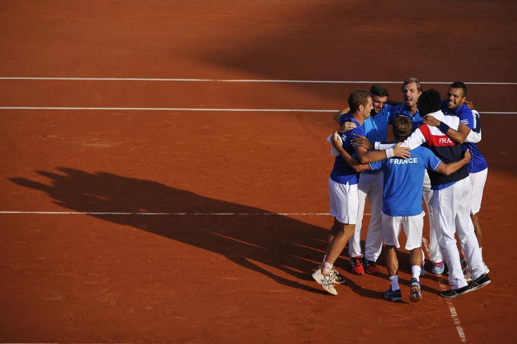 Coupe Davis : Federer et sa bande fonce sur la France