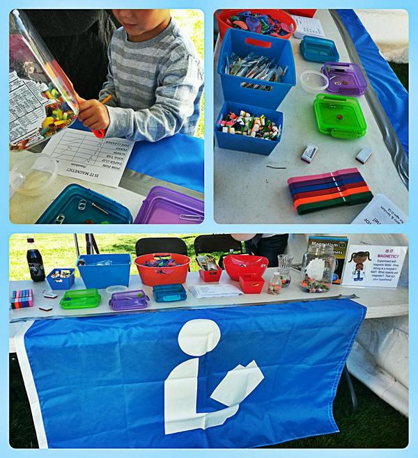 Over 175 (!) people visited our MAGNET CHALLENGE booth at our local ScienceFest. WOWZA! #getOTL @GetOTL #librarylife http://t.co/8AGTe3awe7