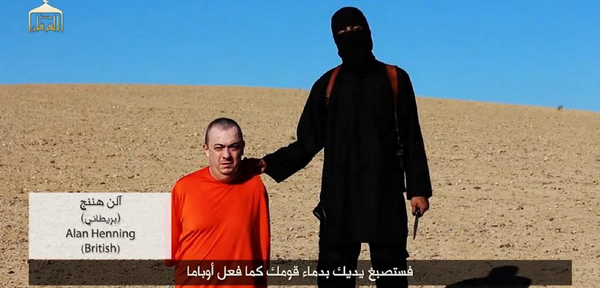 Alan Henning may be next beheading by ISIS