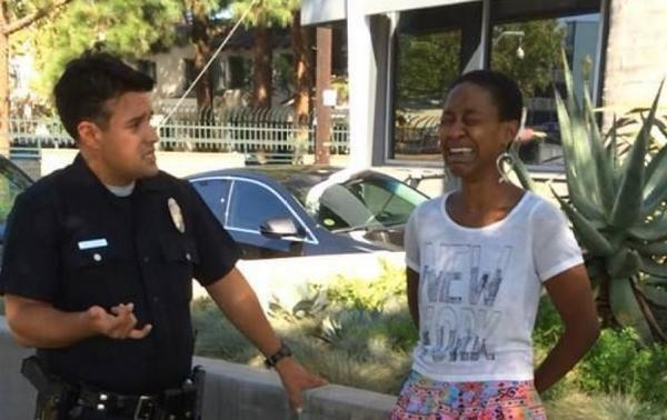 The LAPD mistook a black woman kissing her white husband for a prostitute. In America. In 2014 http://t.co/8KyOZIBCO2 http://t.co/p6JtY69pPn