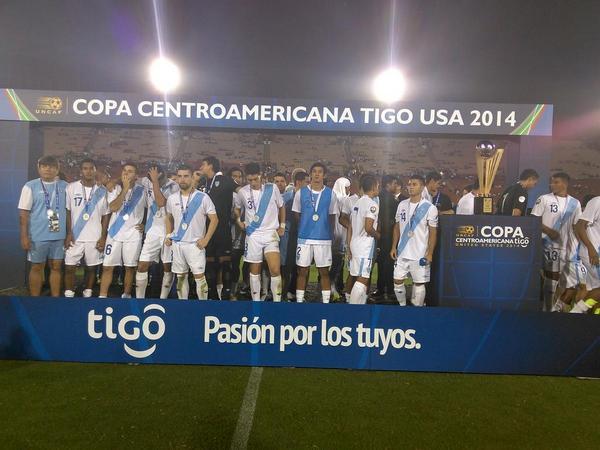 Guatemala subcampeón, pero vuelve a decir presente