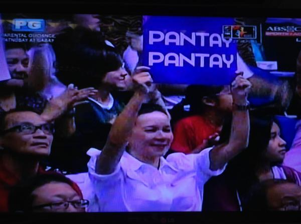 Ang lakas poe ng cheers dito you have no idea RT @ANCALERTS: Sen. Poe before UP Pep Squad performed at #UAAPCDC2014 http://t.co/azFWTHCTwk