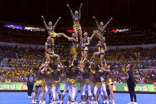 The UST Salinggawi Dance Troupe #UAAPCDC2014 http://t.co/8LeAFAaOfW