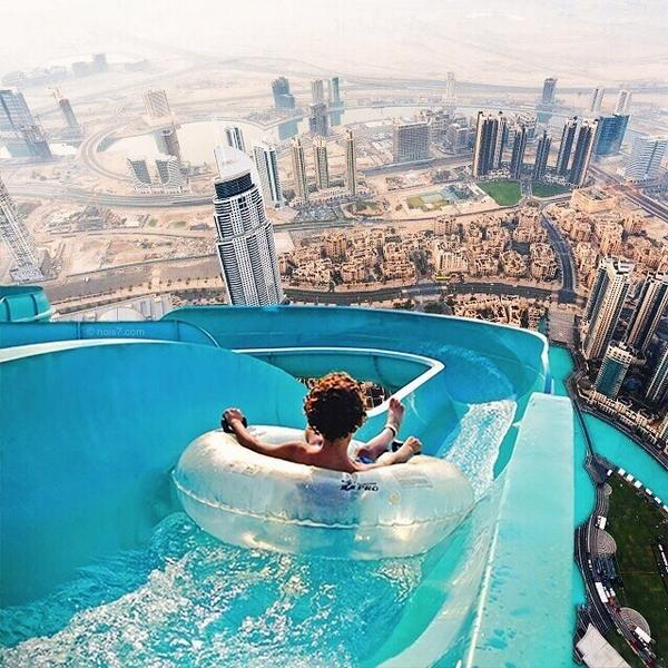Lux World Travels On Twitter Waterslide In Dubai