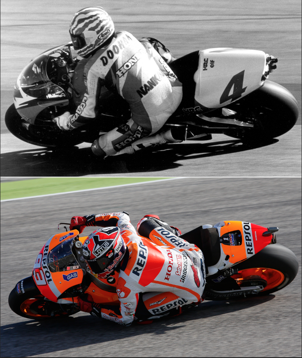 Nugroho On Twitter Old School Doohan Motogp Marquez Could Equal Mick Doohan S Record Which Style Do You Like Most Mm93vsdoohan Http T Co Ragm3cj78n