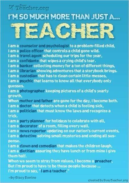 + I Am SO Much More Than Just A Teacher via @fishtree_edu. #aussieED http://t.co/f3NkRvj1LP